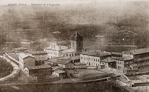 Centre-Medical-Argentiere- Le séminaire vers 1900