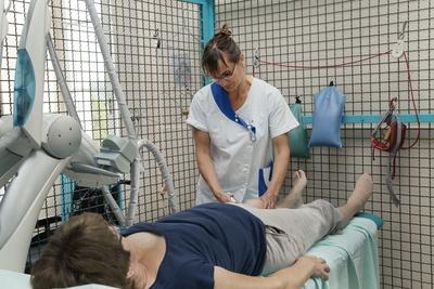 Centre-Médical-Argentière - Séance de kinésithérapie
