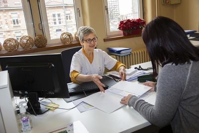 Centre-Medical-Argentière - L'admission